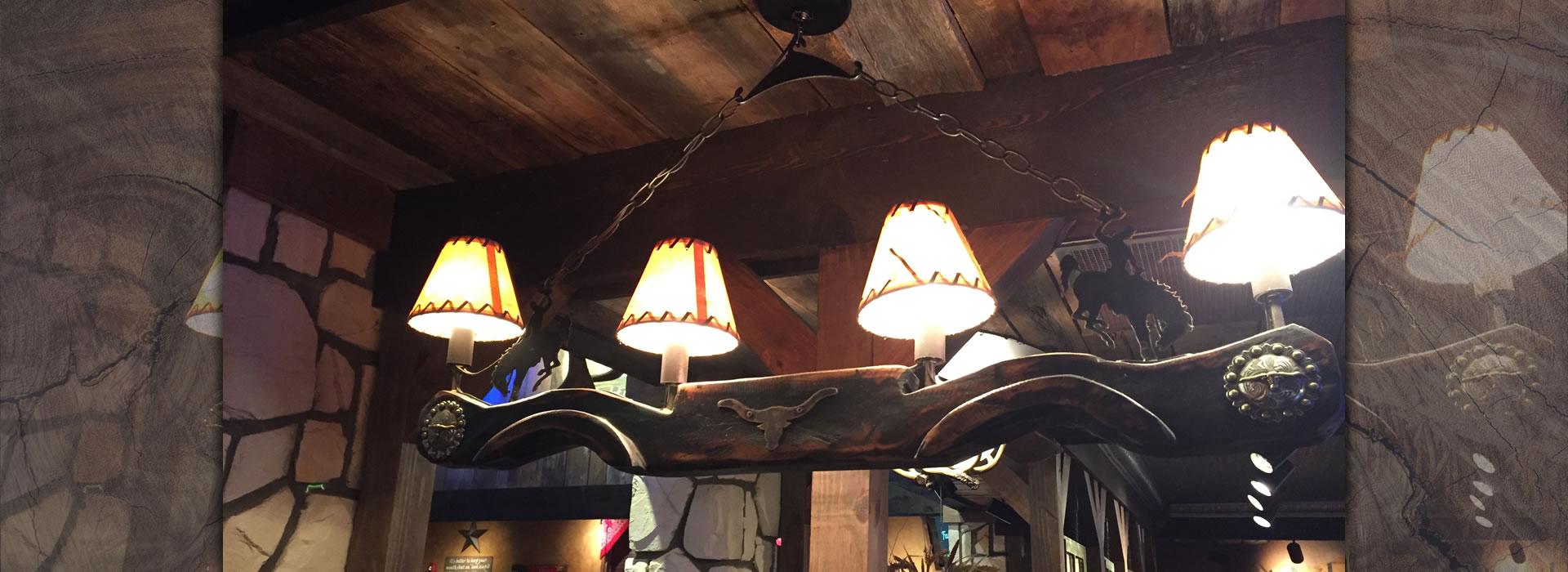 Old Wood 4 Light