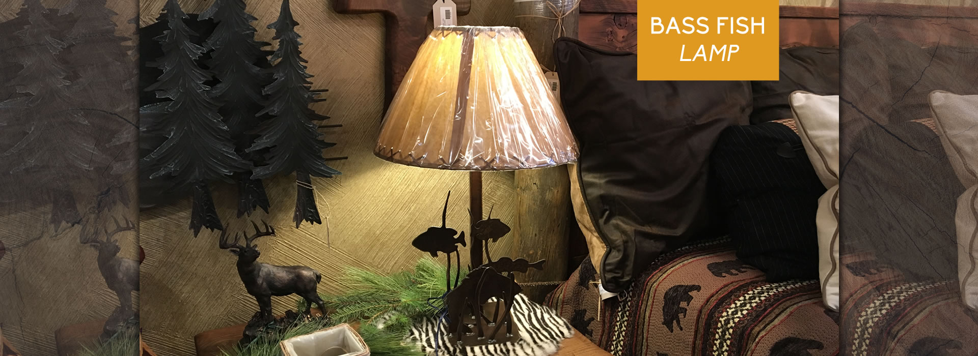 Bass Fish Lamp